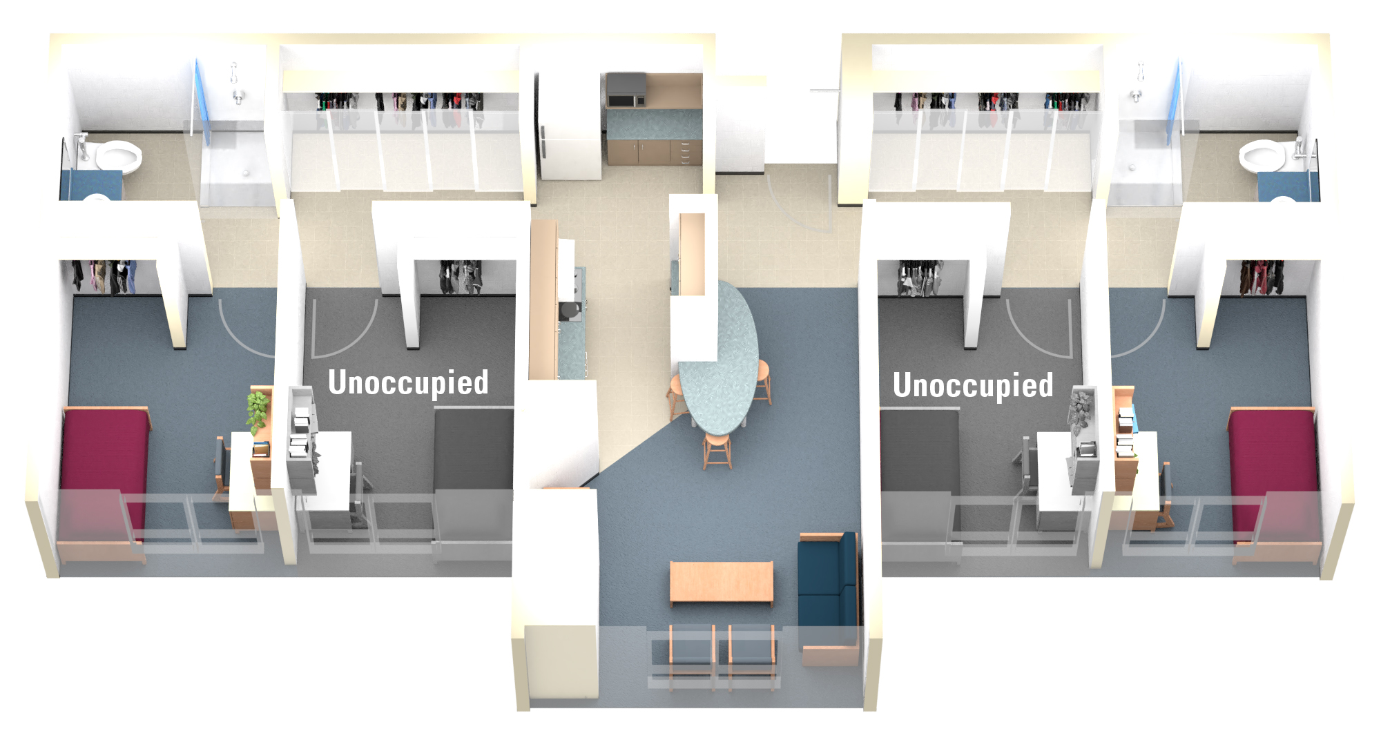 Modified Keyes Suite Floor plan